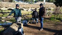 Gruppo al parco degli acquedotti