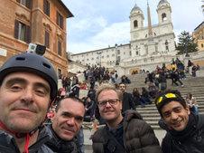 Gruppo a Piazza di Spagna