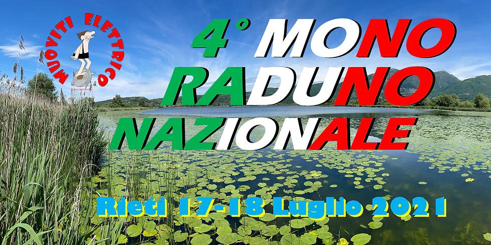 4° MonoRaduno Nazionale 2021