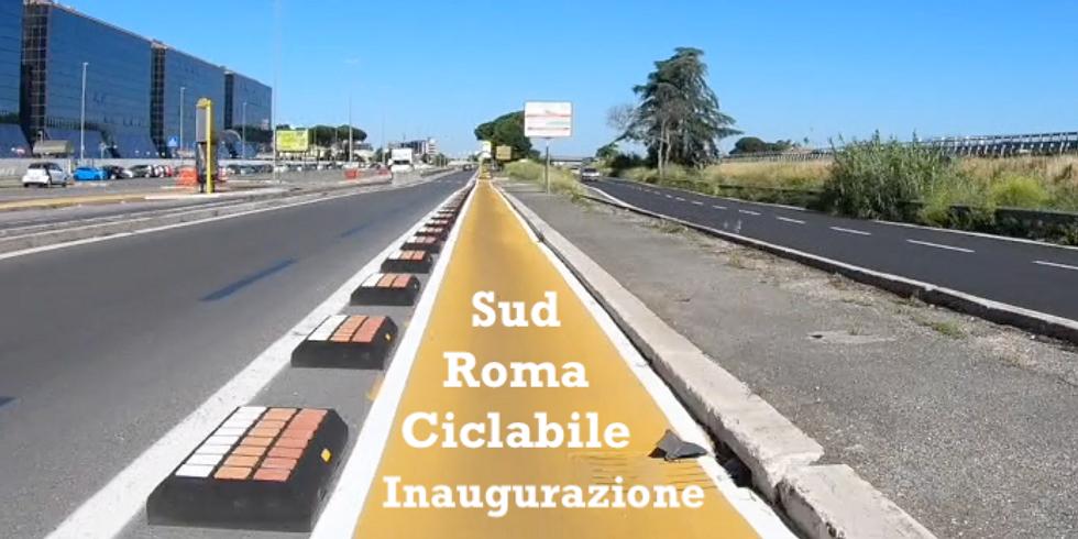 Inaugurazione Ciclabile Roma Sud