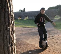 Michele al parco degli acquedotti