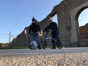 Andrea e Marcello a Caracalla