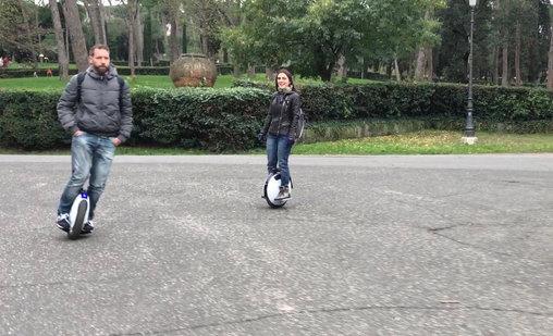 Anna e Matteo a Villa Borghese