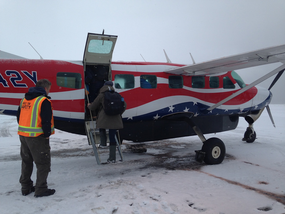 Our Ravn Airlines Flight to Point Lay