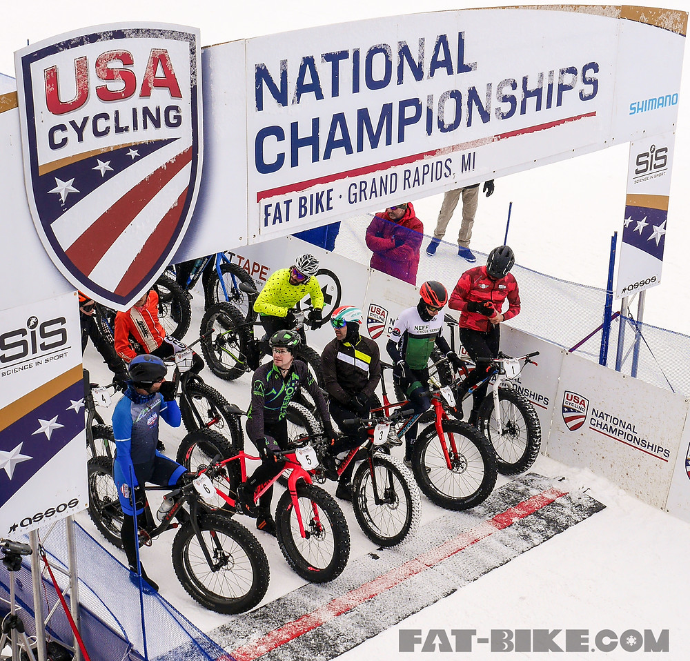 Pro Men's Start Line - Photo: Gomez of Fat-bike.com