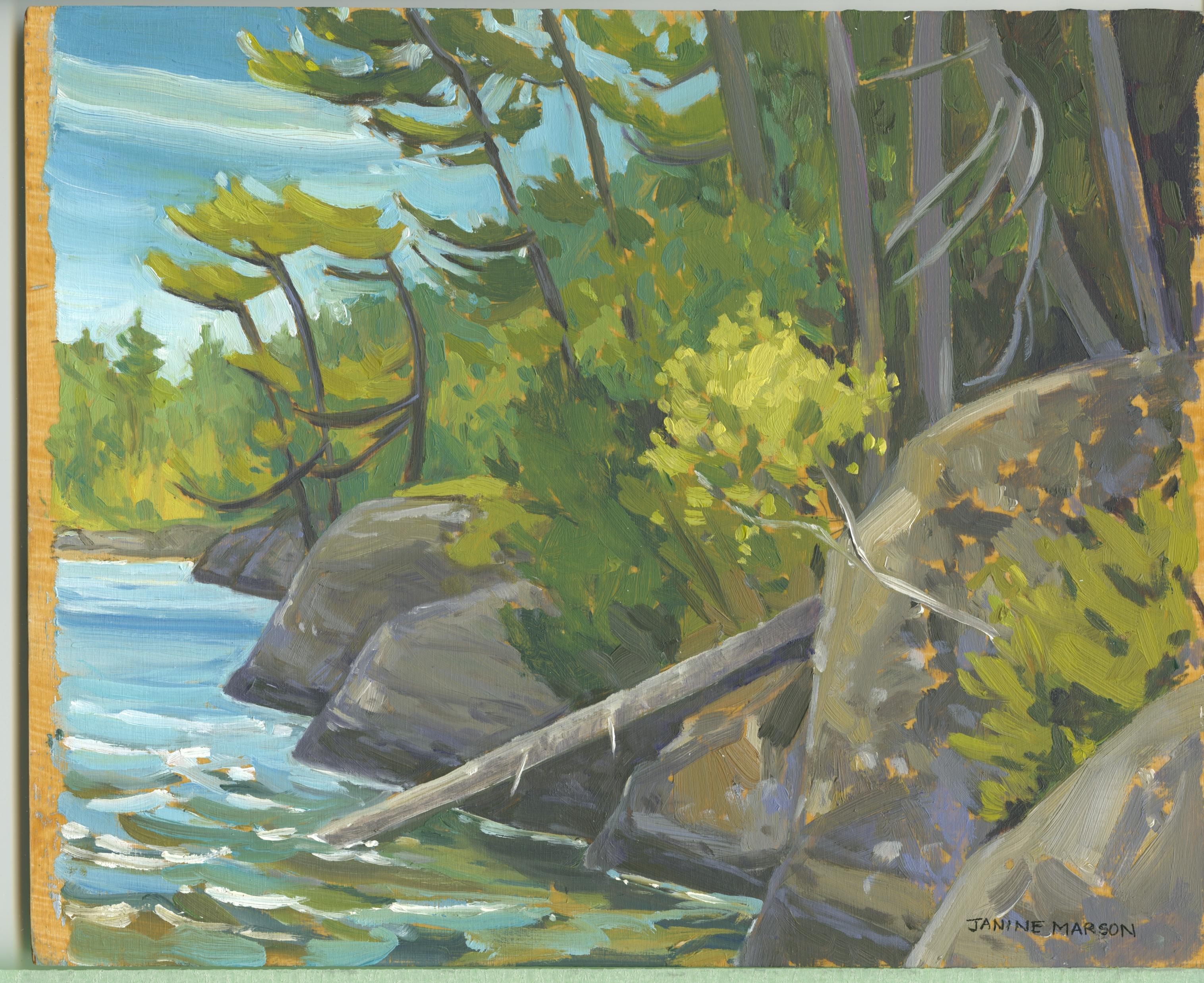 Board#47 Rock lake Barclay-sold