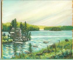 Board#22 Hepburn's island-SOLD