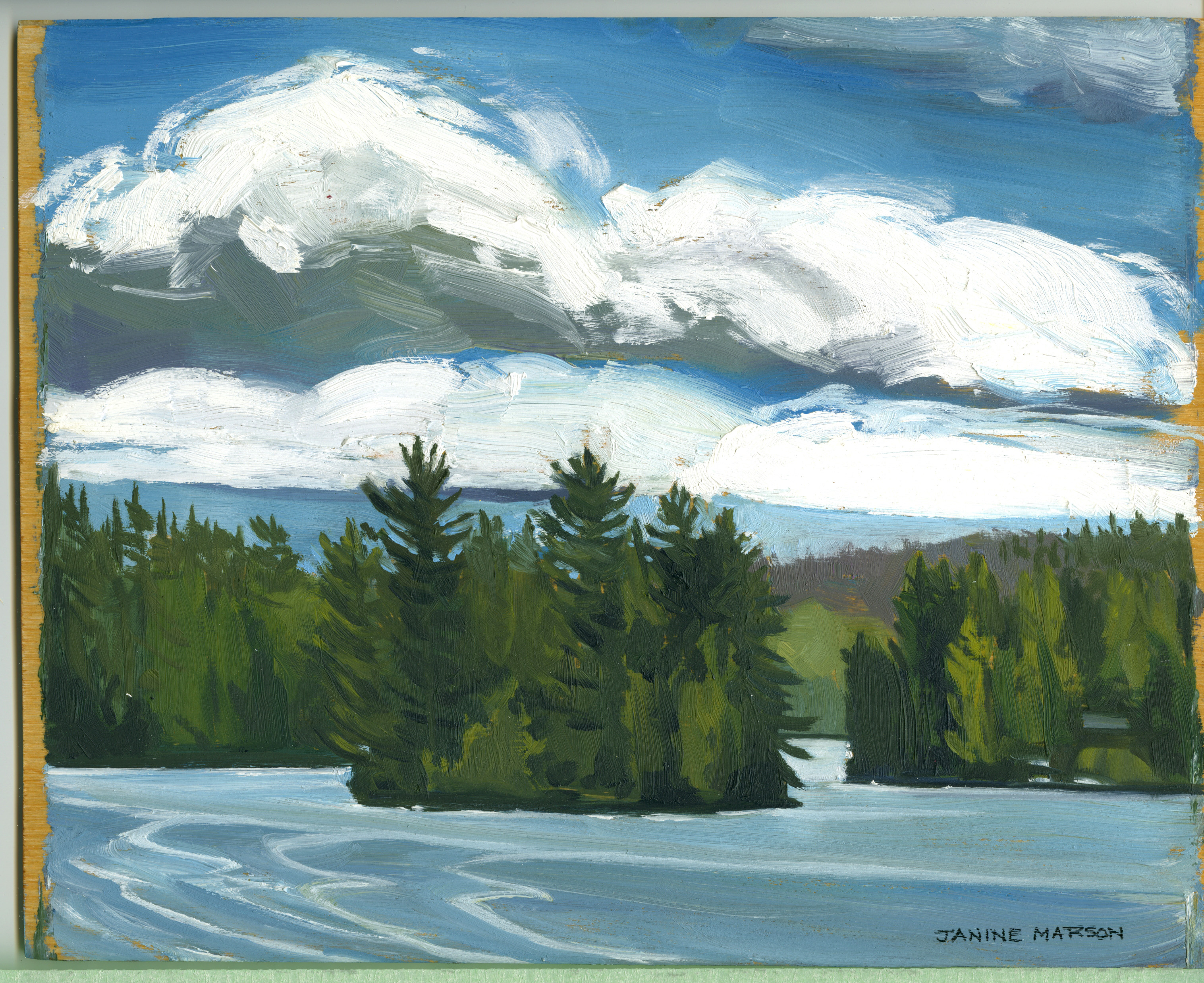 Bd#36 Cloudy day Cache lake-SOLD