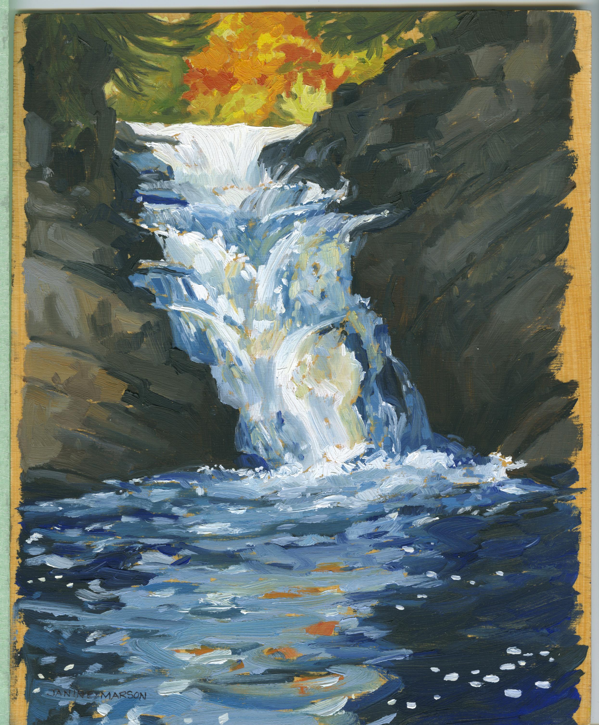 Bd#94 High Falls Oxtongue-SOLD