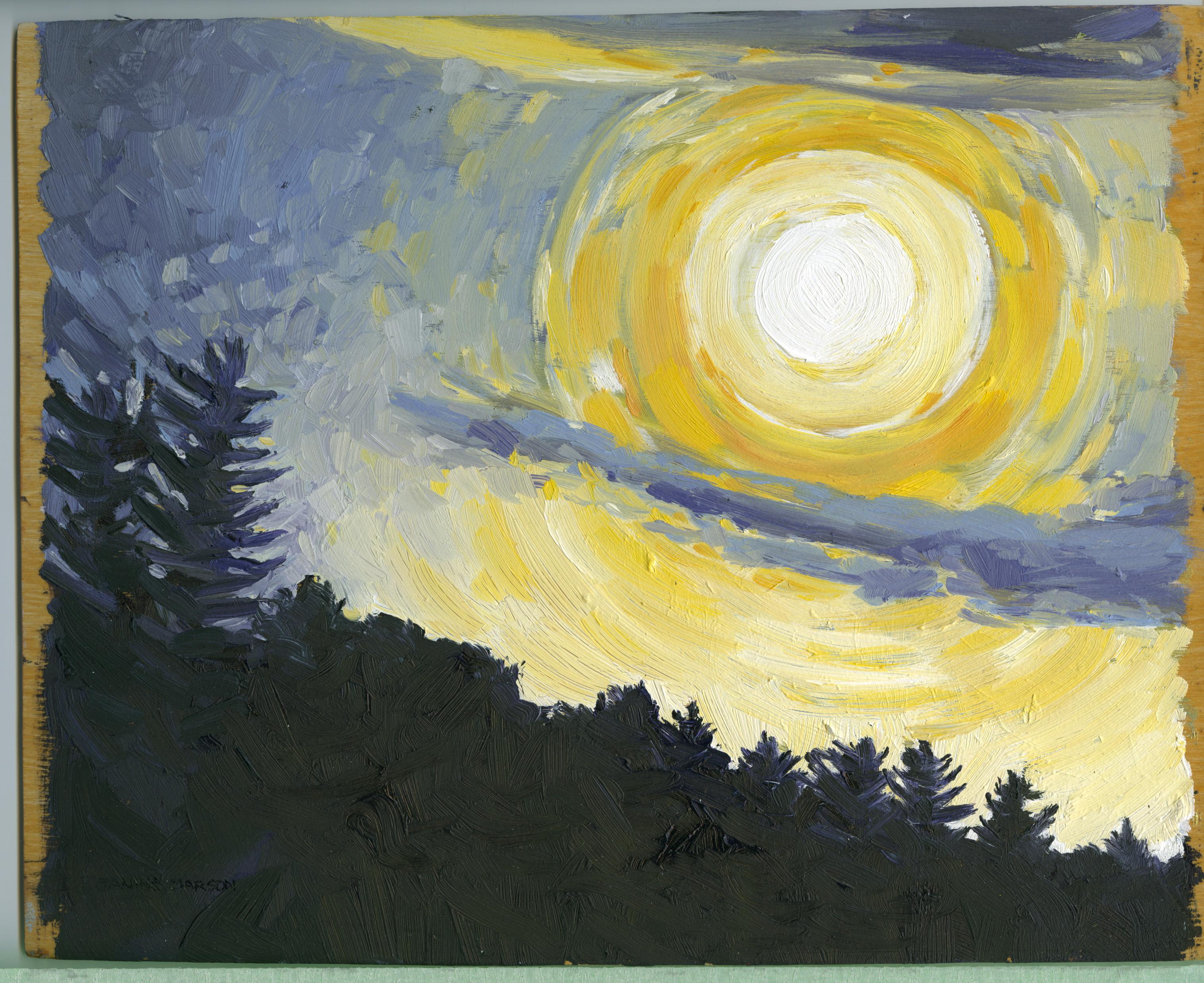 Bd#73 Heavenly harvest moon-SOLD