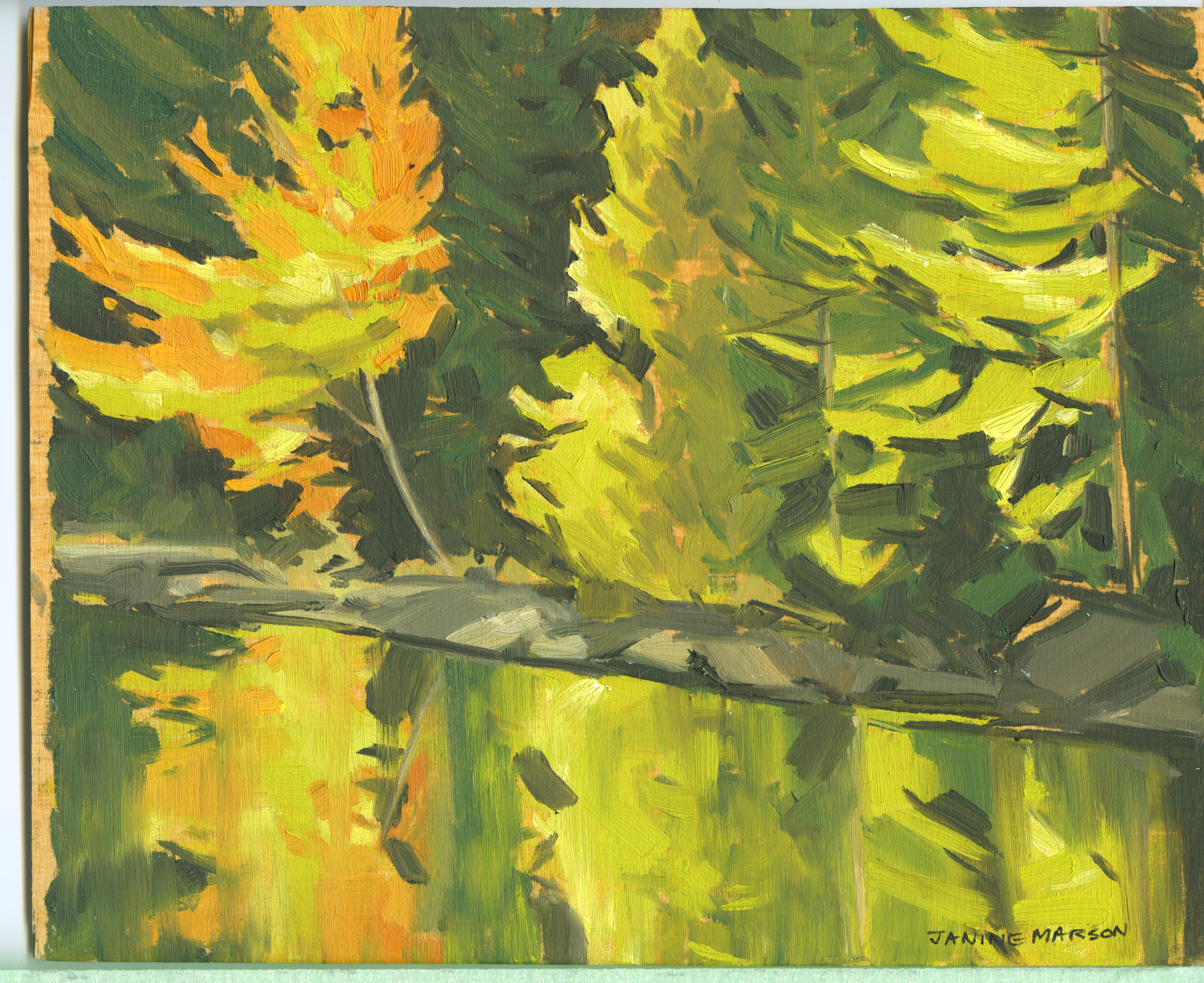 Bd#68 Early morning glow-SOLD