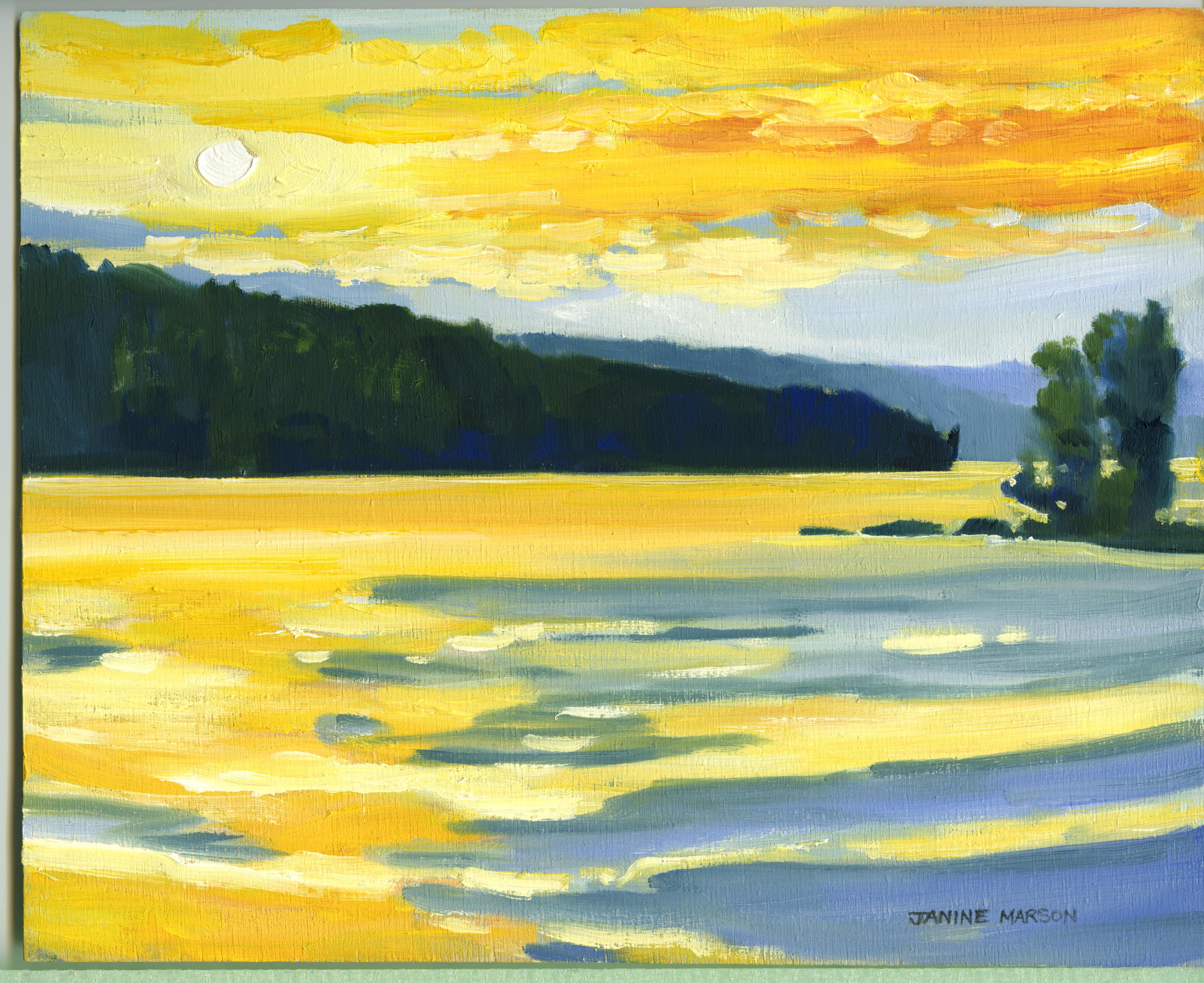 Board#1Sunset Grand lake Achray-SOLD