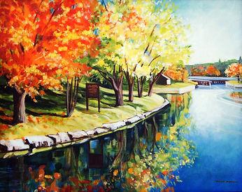 A perfect afternoon.The Locks, Huntsvill