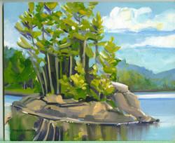 Ragged Lake, Afternoon Sun-SOLD