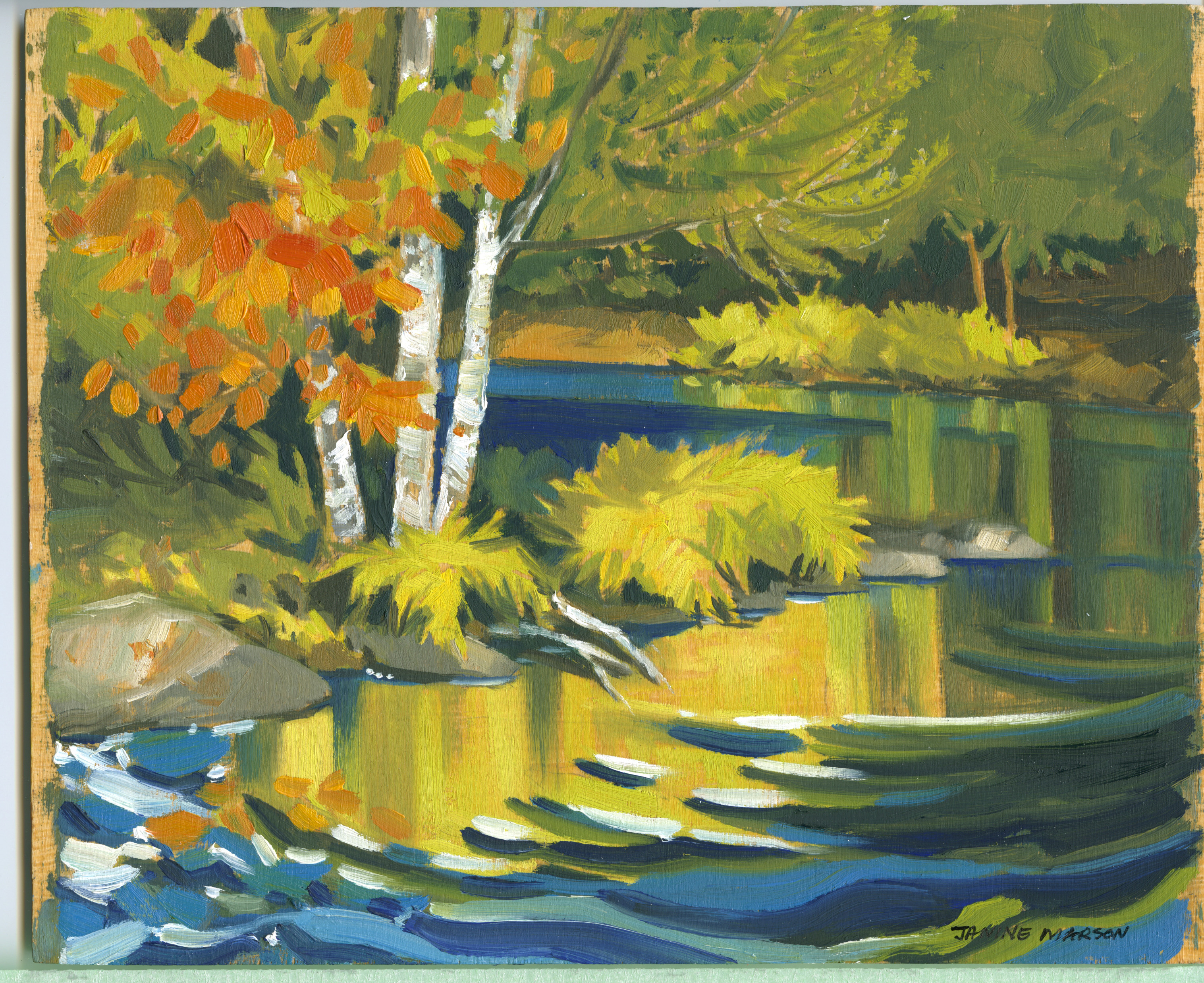 Bd#70 Fall is around the corner-SOLD