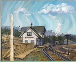 Bd#10 Canoe Lake train station-SOLD