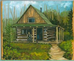 Board#89 Ranger Cabin-SOLD