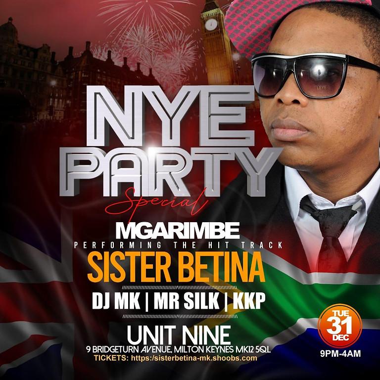 NYE Party with Mgarimbe