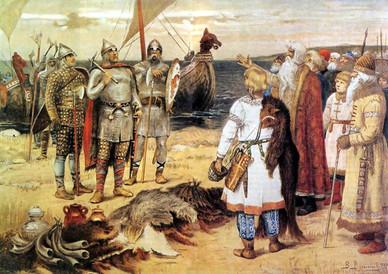 Economía de los primeros Varegos y los eslavos