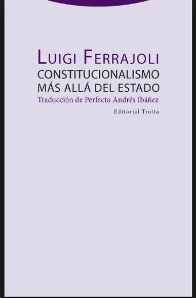 luigi ferrajoli constitucionalismo
