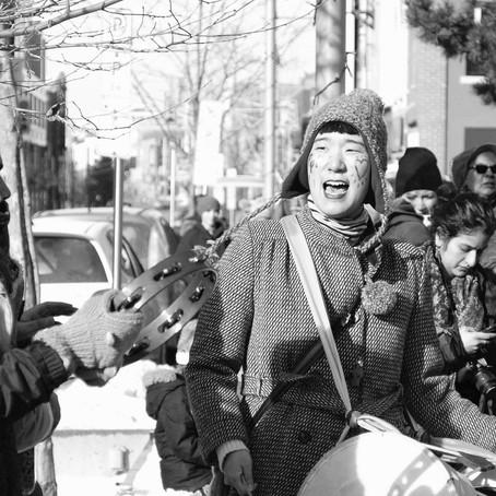 women's march 2018 in DTK