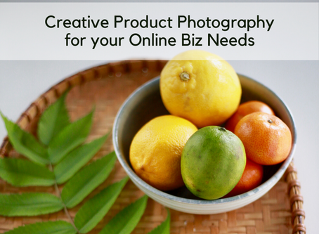 Creative Product Photography Services