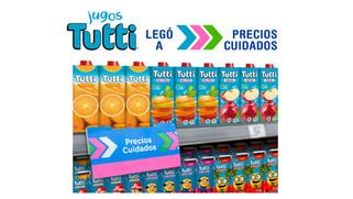Trade y Retail - Jugos Tutti ingresa en precios cuidados