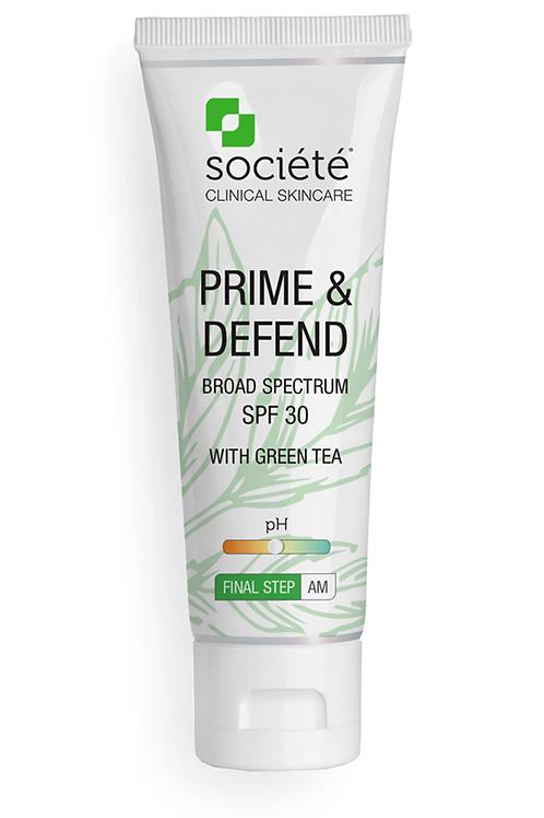 PRIME & DEFEND SPF30