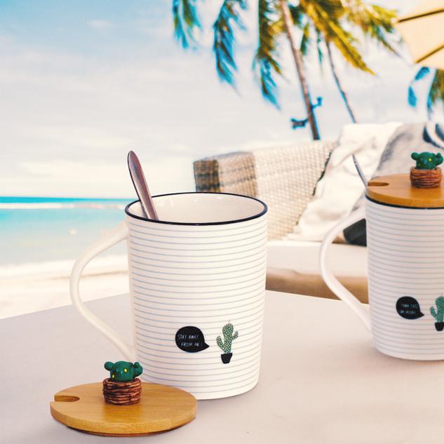 Cactus Mug Gift Set