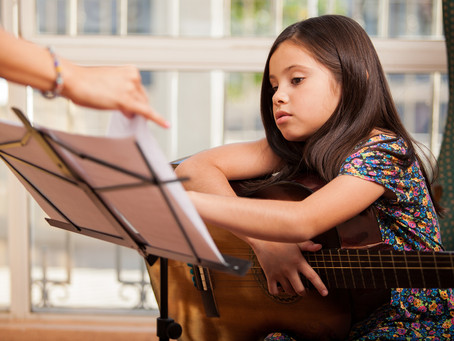 A Team Approach - Helping Young Music Students with Concentration