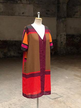 Colorful flowy Vest