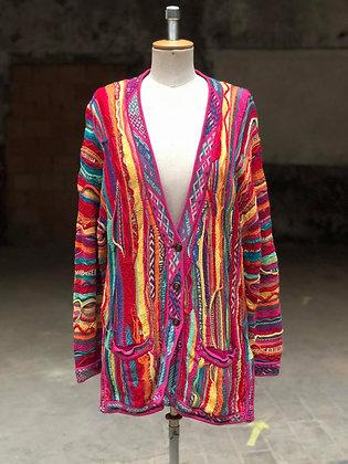COOGI Bright multicolored cardigan