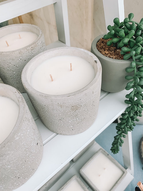 Small Natural Outdoor Candle