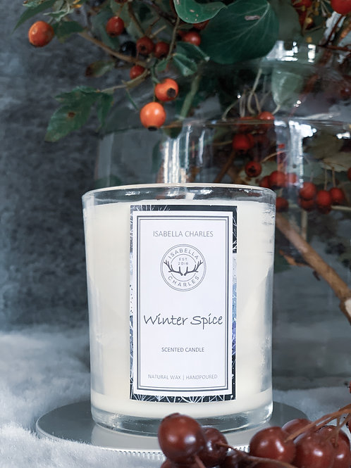 Winter Spice • Natural Wax Candle