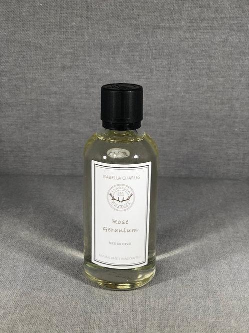 Rose Geranium • Diffuser Refill & Reeds