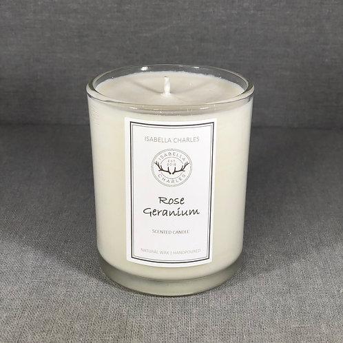 Rose Geranium • Natural Wax Candle