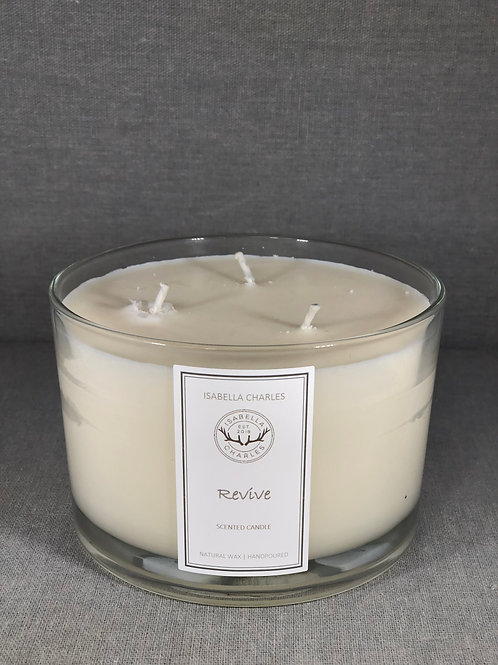 Revive • Deluxe Natural Wax Candle