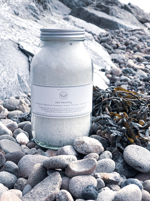 Dead Sea Spa Recovery • Mineral Rich Bath Salts