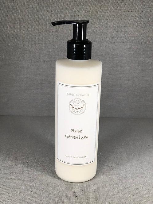 Rose Geranium • Luxury Hand & Body Lotion