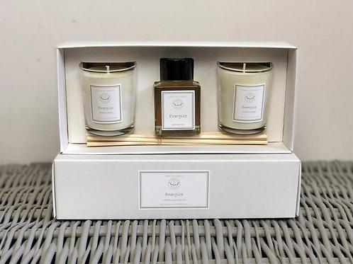 Energize Candle & Diffuser Set