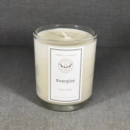 Energize • Natural Wax Candle