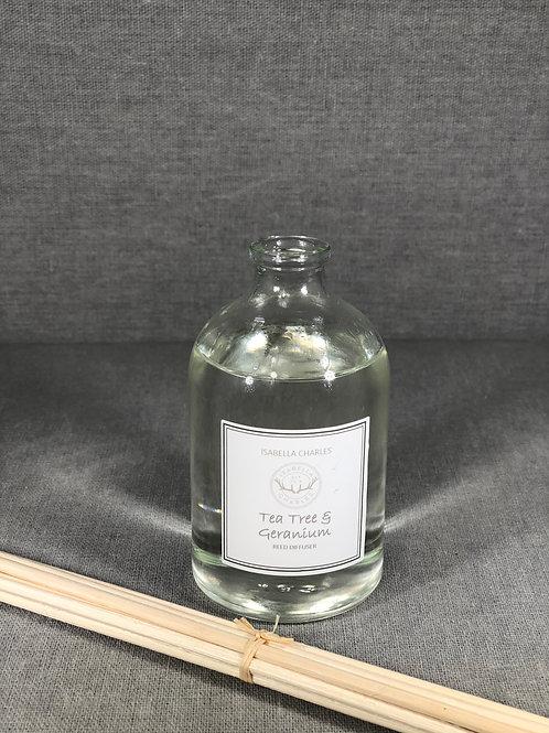 Tea Tree & Geranium • Apothecary Reed Diffuser