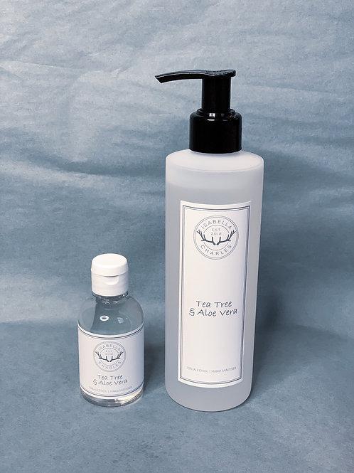 Tea Tree & Aloe Vera • Hand Sanitiser
