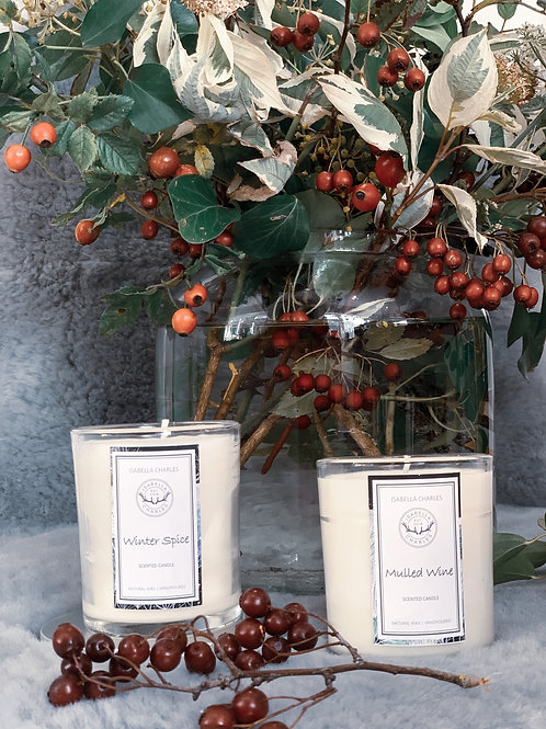 Mulled Wine • Natural Wax Candle