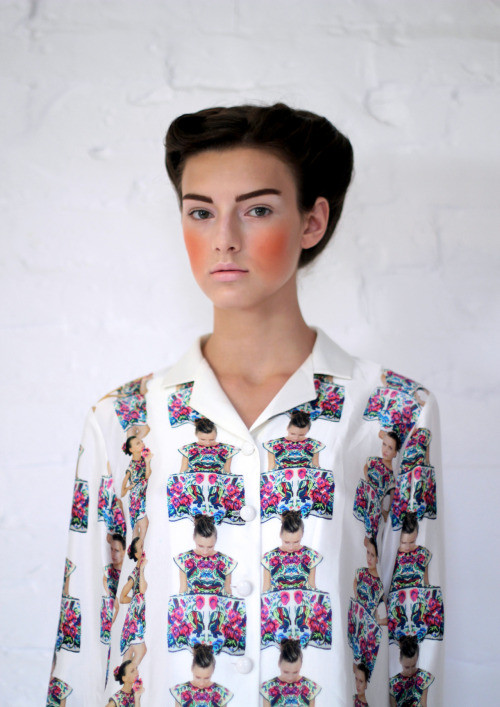 Lana Mise en Abime Silk Shirt