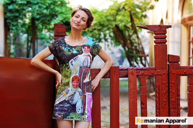 Peasants Print Dress