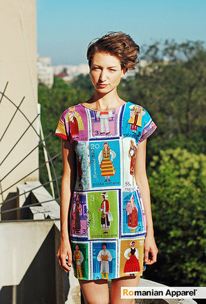 Stamps Dress