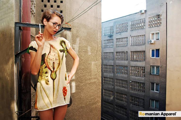 Botanic Print Dress