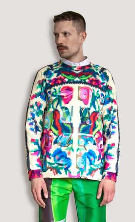Sweatshirt Etno Desktop Boys