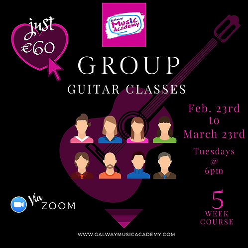 Beginner Guitar Zoom Short Course